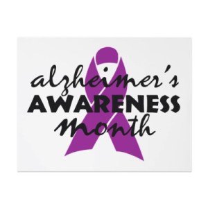 National Alzheimer's Disease Month - November is the month for what cancer awareness?