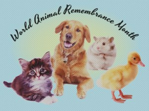 World Animal Remembrance Month - according to the Bible? the jewish new year is in the month of Aviv?