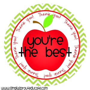 Teacher Appreciation Week - Anyone have ideas for Teacher Appreciation Week?