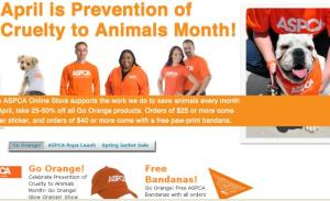 ASPCA Month - ASPCA neuter coupon