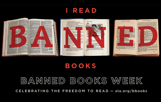 Why are so many people posting questions about banned books? What is banned book week?