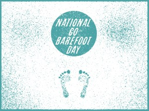 National Go Barefoot Day - National ________day?