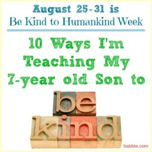 Be Kind To Humankind Week - would you kill yourself to save earthhumankind?