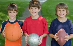 Sports America Kids Month - What are the most popular individual sports in America? ?
