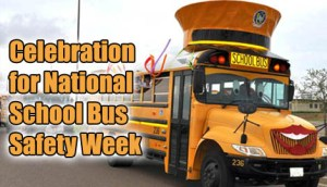National School Bus Safety Week - why is there no seat belts,on a seventy two seater school bus?