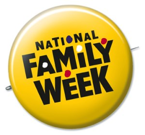 National Family Week - Is Thanksgiving week designated National Family Week?