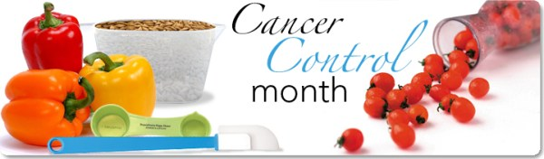"April is ""National Cancer Control Month"" - What does that mean?"