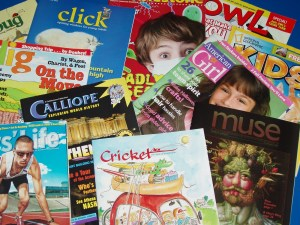 Children's Magazine Month - Has anyone heard of child's compass?