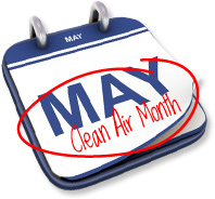 Clean Air Month - Cleaning tips - I'm a little new to the 'housewife' thing!?