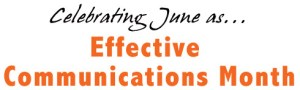 Effective Communications Month - Effective communication in relationships?