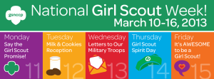 Girl Scout Week - Girl scouts?