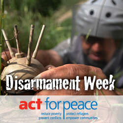 Disarmament Week - Events for Disarmament week?