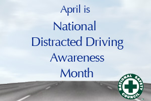 Distracted Driving Awareness Month - help with driving, please?