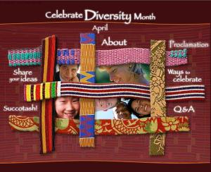 Celebrate Diversity Month - This is National Celebrate Diversity Month - are we CELEBRATING what divides us now?