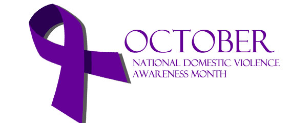 When is the national domestic violence awareness week/month?