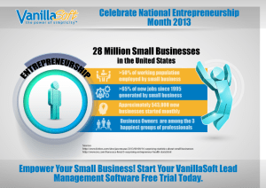National Entrepreneurship Month - 204,000 Jobs Added Last Month (October)? Good Or Bad? Your Thoughts?