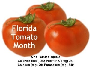 Fresh Florida Tomatoes Month - Florida Plants for Mid Summer through Fall?