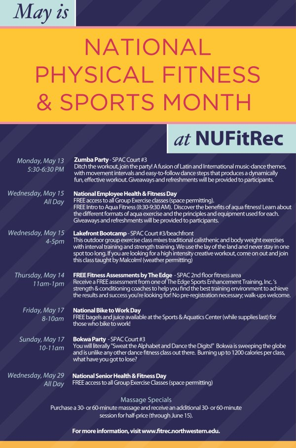 Fitness & Recreation : National Physical Fitness & Sports Month