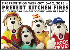 how do i find out about fire prevention month?