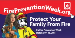 Fire Prevention Week - where can we find fire prevention week activities?