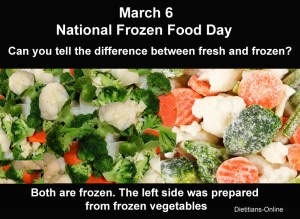 National Frozen Food Day - $200 of food for 30 days?