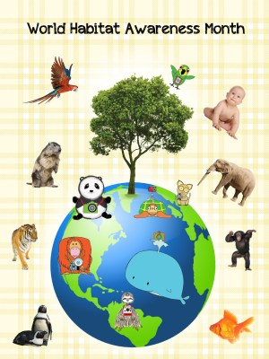 World Habitat Awareness Month - What is each month for Awareness Month?