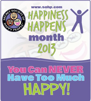 Happiness Happens Month - What is happiness?