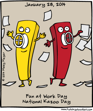 National Fun at Work Day - National Days?