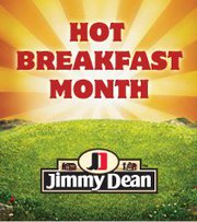 When did National Hot Breakfast Month begin?