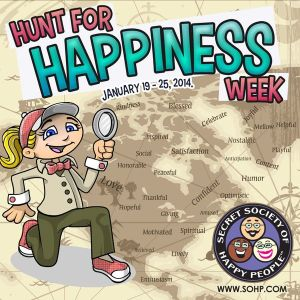 Hunt For Happiness Week - A hunting i will go,A hunting i will go?