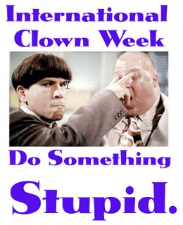 International Clown Week - International Airline HELP!!?