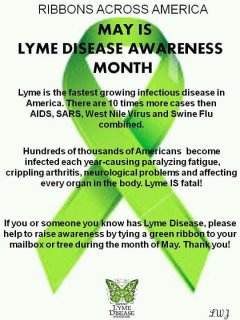 Did You Know That Its Lyme Disease Awareness Month?