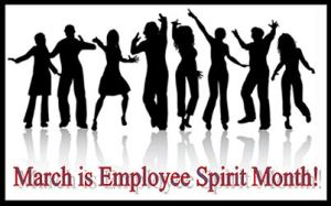 Employee Spirit Month - Employee Involvement Program.?