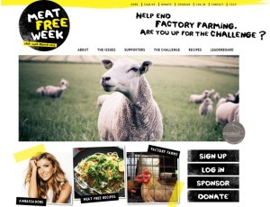 Meat Free Week - MEAT FREE MONDAYS?