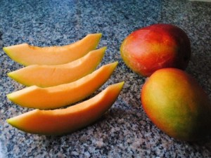 Mango and Melon Month - ?'s about 7 month old?