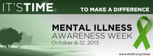 Mental Illness Awareness Week - Happy Mental Health Awareness week?