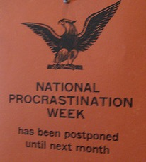 National Procrastination Week