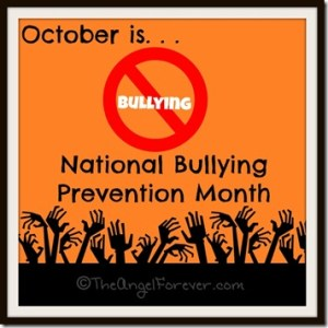Bullying Prevention Month - is october horror month?