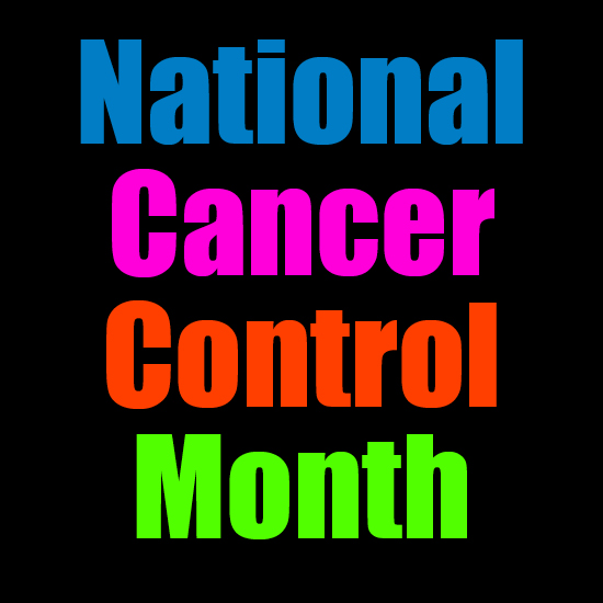 Which months are cancer awareness months?