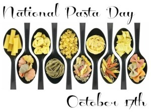 National Pasta Day - Easy, Delicious Pasta Recipe?