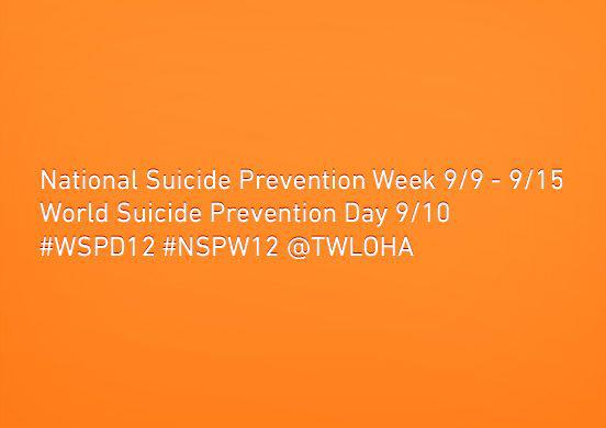 Suicide Prevention?