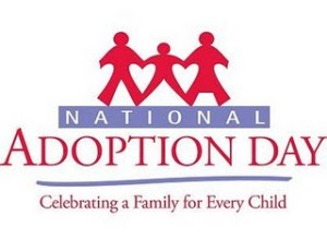 National Adoption Day - Can there be a Child Adoption Day ?