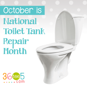 National Toilet Tank Repair Month - is there any books that have all holidays?