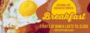 National Hot Breakfast Month - NATIONAL HOT BREAKFAST MONTH ?