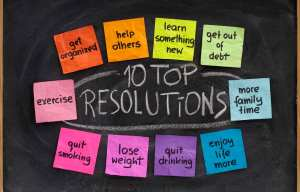 New Year's Resolutions Week - Did you make a New Year's resolution this year?