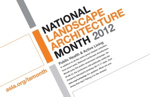 National Landscape Architecture Month - How do I become a landscape architect?