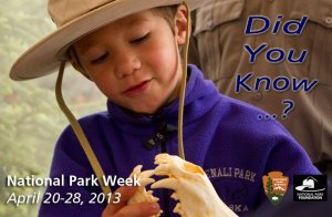 National Park Week - national parks.?