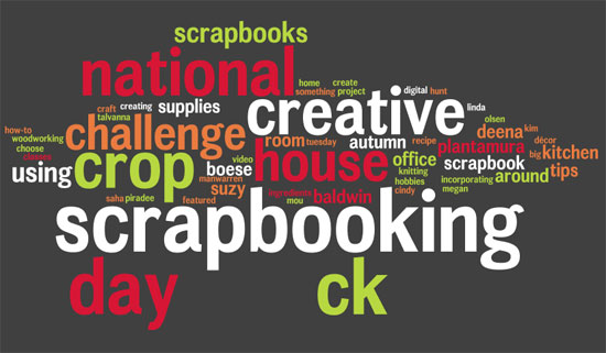 Is anyone celebrating National Scrapbook Day?