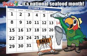 National Seafood Month - when is national seafood month?