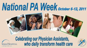 National Physicians Assistant Week - Physician Assistant?